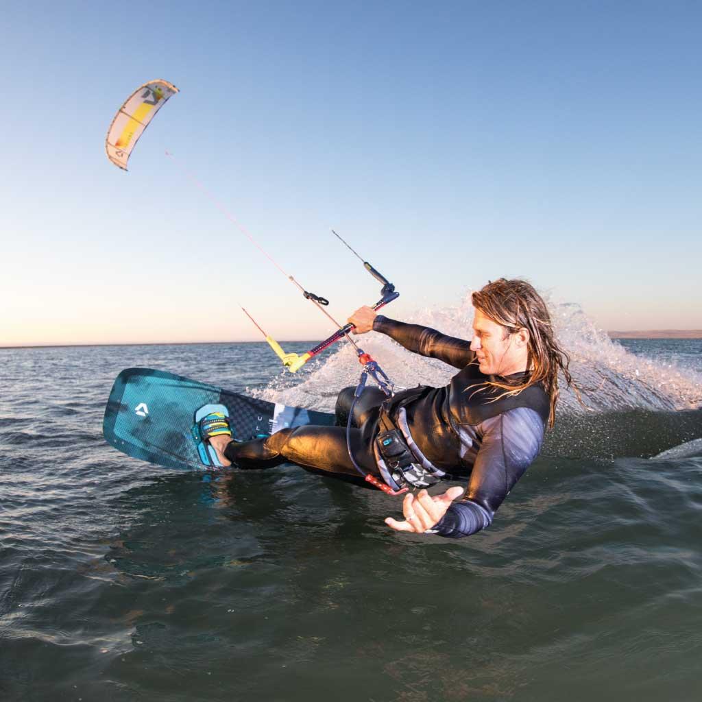 Lexique voile et kitesurf - Heelside