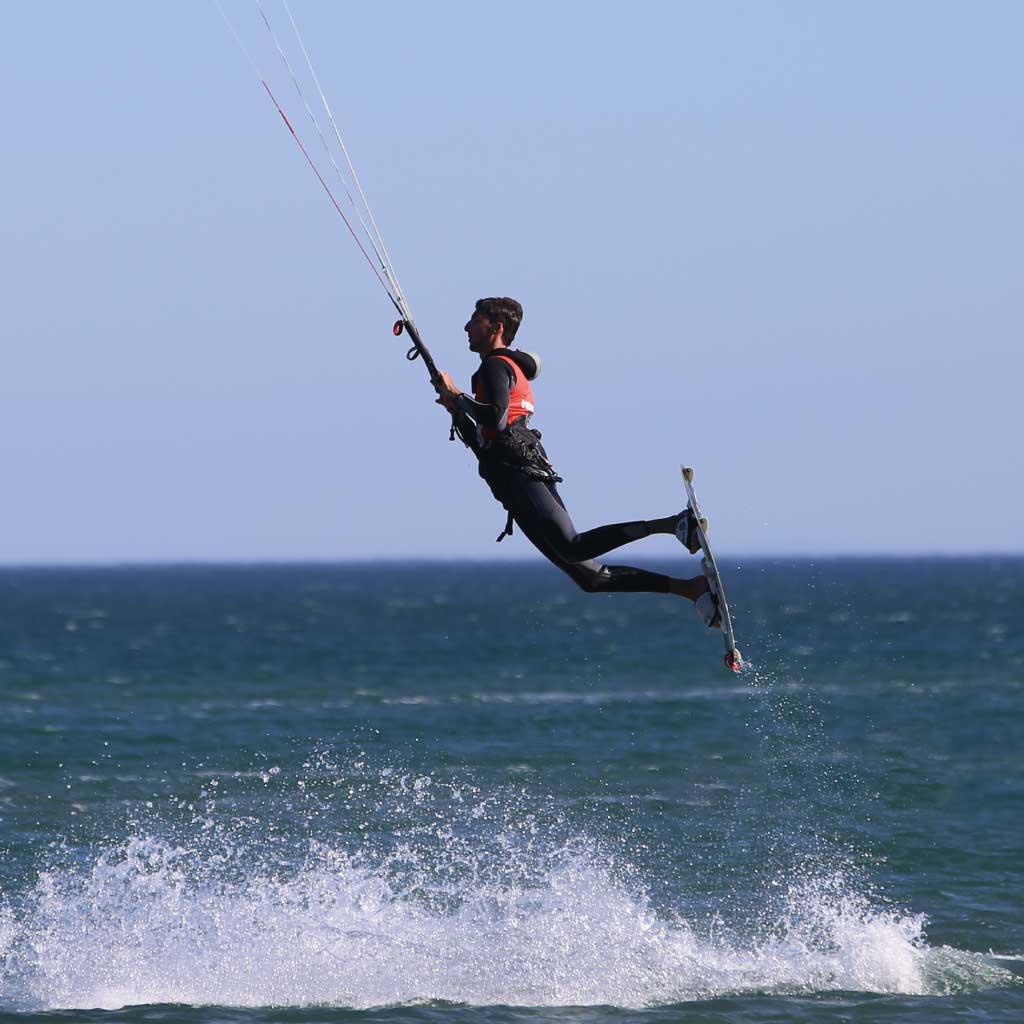 Lexique voile et kitesurf - Jump