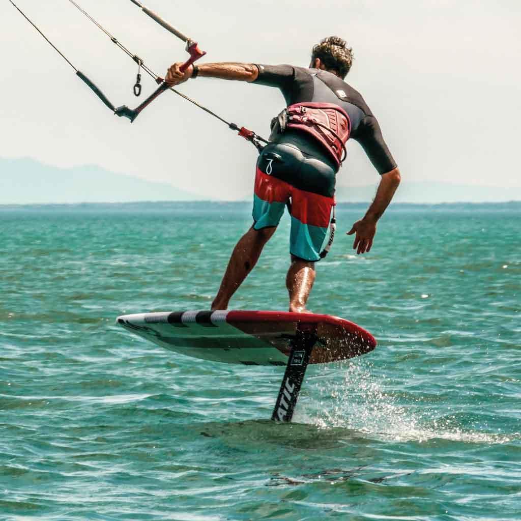 Lexique voile et kitesurf - Rider