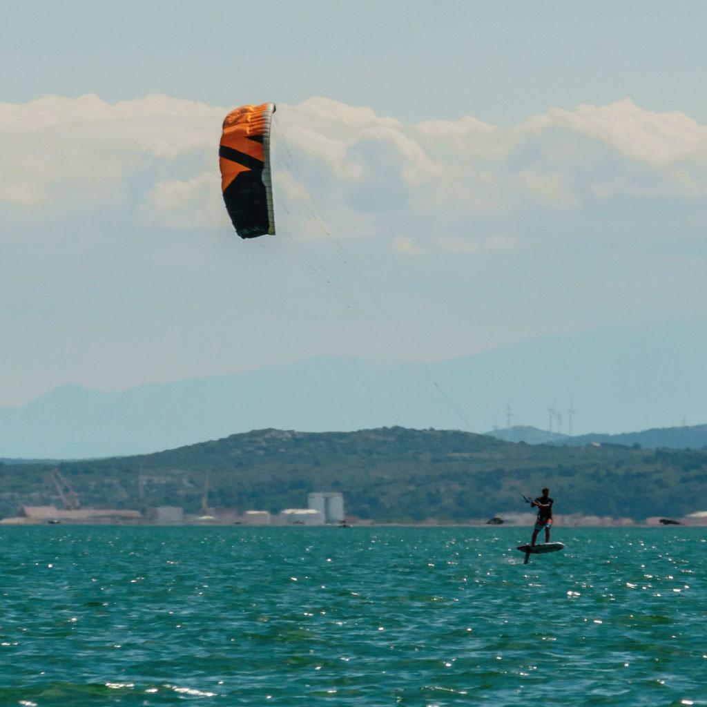 Lexique voile et kitesurf - Zénith
